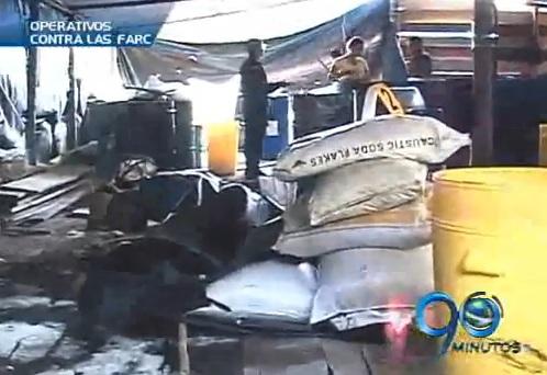 Ejército entrega balance de operativos contra el narcotráfico en el Valle