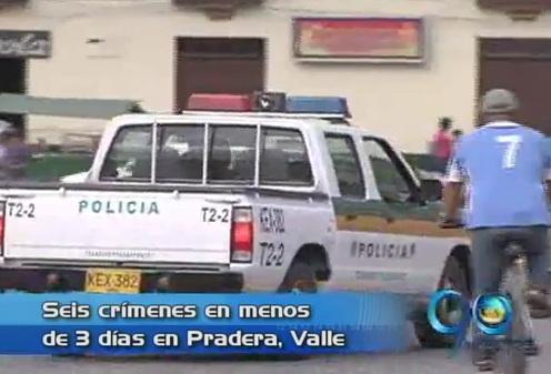 ¡Terror en Pradera! Van 6 asesinatos en 3 días