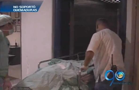 Falleció hombre con graves quemaduras en el HUV