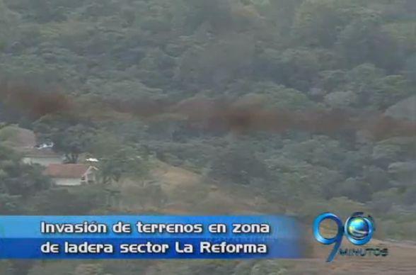 Nueva invasión en el sector de La Reforma
