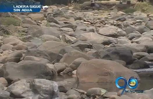 Crisis de agua potable en zona de ladera de Cali