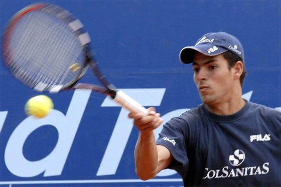 El tenista Santiago Giraldo se recupero de la peritonitis y fue dado de alta
