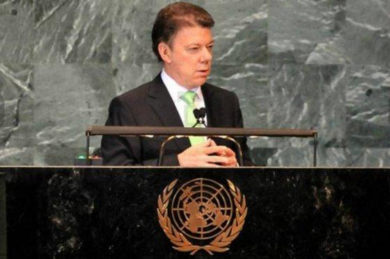 Santos habló de los acercamientos con las Farc en la ONU