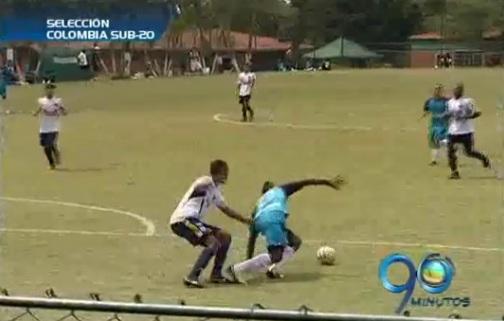 Selección Colombia Sub 20 adelanta microciclo de preparación en Cali