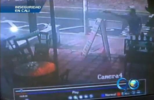 Atentado de sicario quedó registrado en cámara de seguridad