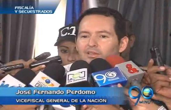 Vicefiscal General se refirió en Cali al marco de negociaciones para la paz