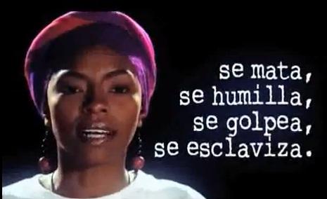 No más violencia contra las mujeres en Colombia