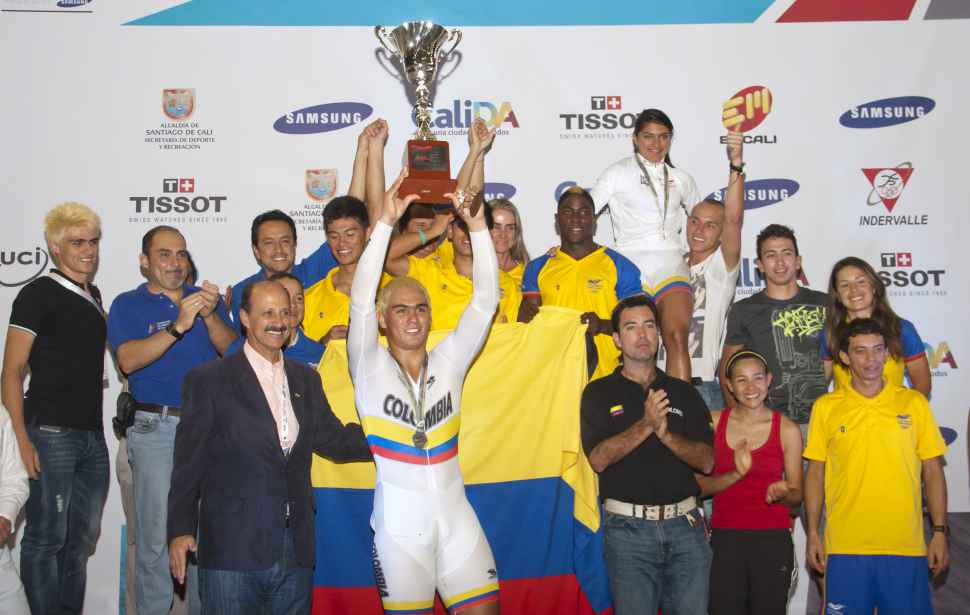 El título de la Copa Mundo de Pista se quedó en casa, ¡Colombia Campeón!