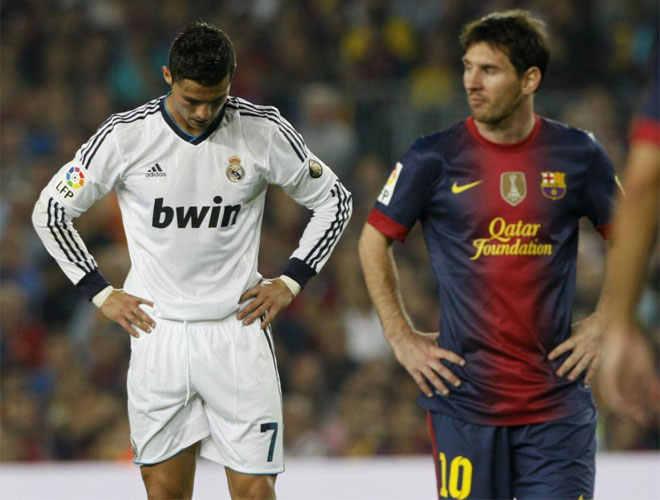 Barcelona y Real Madrid dividieron honores en el primer clásico de la liga
