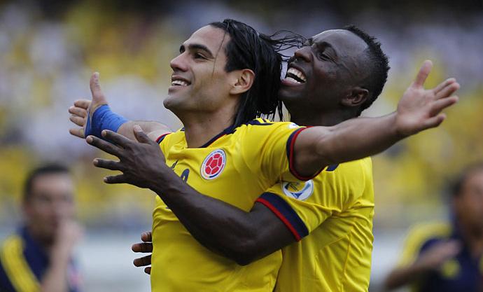 Dos golazos de Falcao le dieron la tercera victoria en línea a la Selección