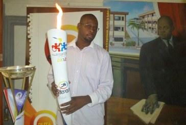 Chocó recibió por primera vez la antorcha de los Juegos Nacionales 2012