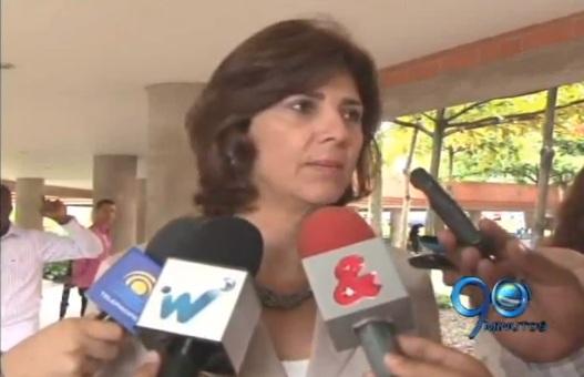 La Canciller María Ángela Holguín en Cali