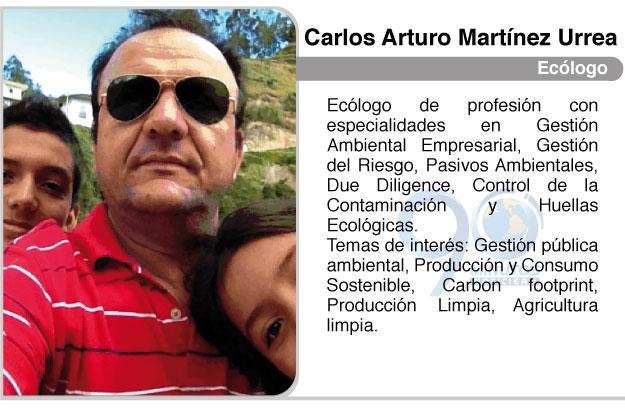 Ecológica, por Carlos Arturo Martínez