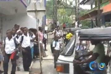 Intoxicados varios niños de una escuela en el Chocó