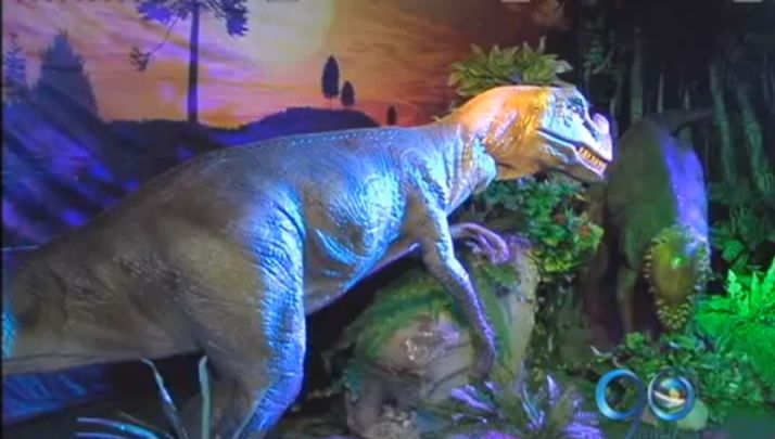 Exhibición de dinosaurios llegó a Cali