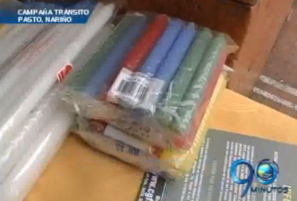 Campaña de tránsito 'Velotón' en Nariño