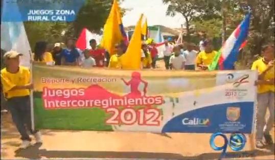 Se inauguraron los Juegos Intercorregimientos en las zonas rurales de Cali