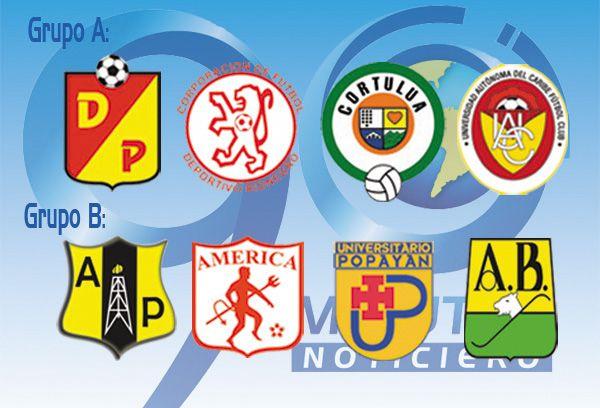 Definidos los grupos de la fase semifinal en el torneo de ascenso colombiano