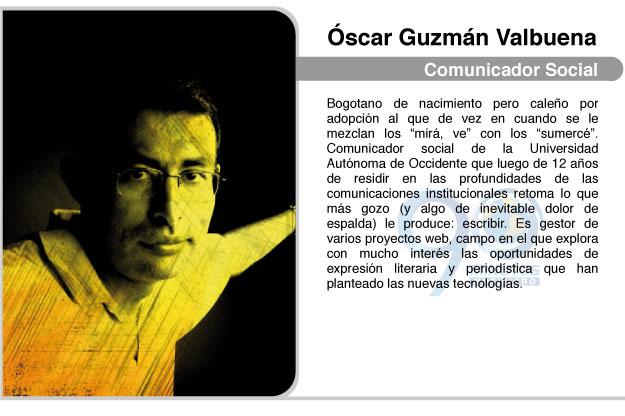 Escéptico pero Sonriente, por Óscar Guzmán
