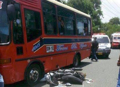 Heridas 17 personas en accidente de tránsito al sur de Cali