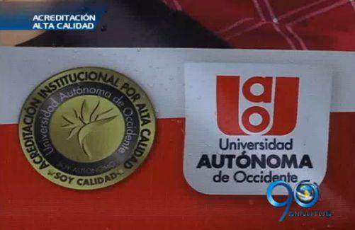 La Universidad Autónoma de Occidente con acreditación de alta calidad