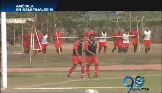 América se prepara para su partido ante Bucaramanga