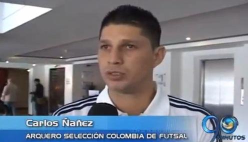 Un vallecaucano integra Sel.Colombia que disputará Mundial Fútsal en Finlandia