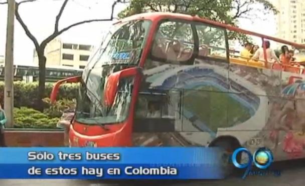 Bus turístico de dos pisos rodará por las calles de Cali