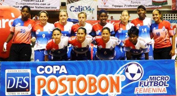 Cali Junior's va por segundo título consecutivo del microfútbol femenino