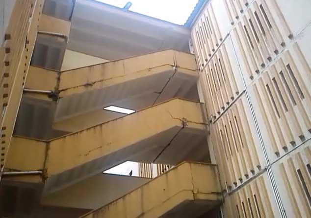 Recomiendan evacuar una torre del barrio Chiminangos II