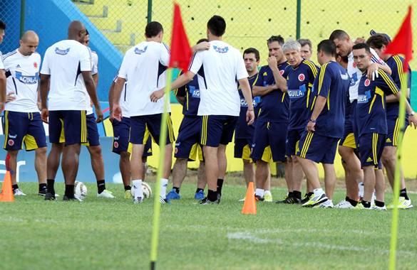 Pekerman ya tiene a toda la selección Colombia concentrada en Barraquilla