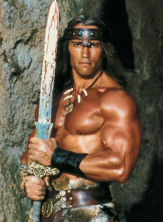 """Schwarzenegger rodará de nuevo """"Conan el Bárbaro"""""""