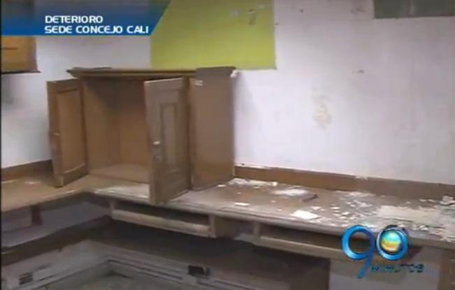 Sede del Concejo de Cali debe ser desalojada debido su deterioro