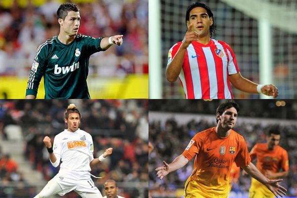Falcao García, en el grupo de 23 jugadores nominados al Balón de Oro