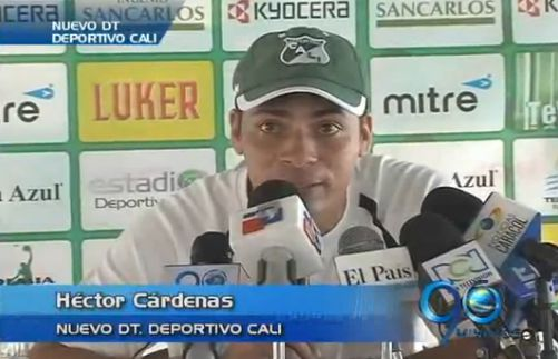 """""""Vengo a dar todo de mí"""": Héctor Cárdenas, nuevo técnico del Deportivo Cali"""