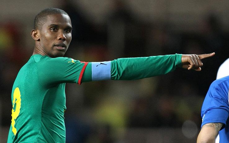 Samuel Eto'o vendrá a Colombia para juego amistoso ante la tricolor