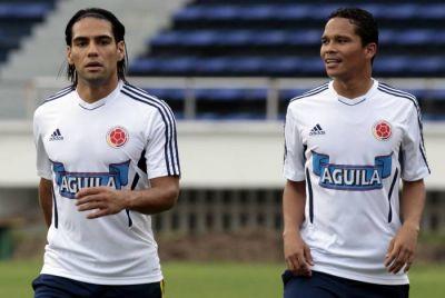 La Selección Colombia cuenta con cuatro delanteros de lujo