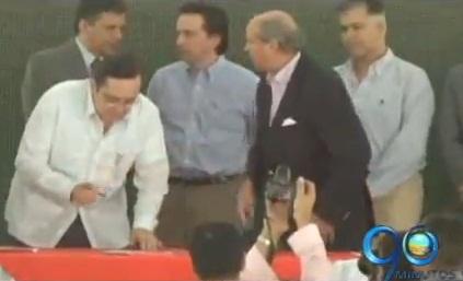 En Palmira se firmó convenio para realizar proyectos con responsabilidad social