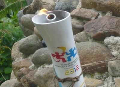 La llama olímpica de los Juegos Nacionales llegó ayer a Cali