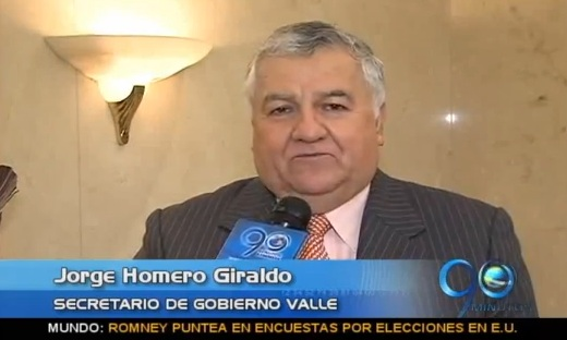 Reacciones de Jorge Homero Giraldo sobre votos no válidos