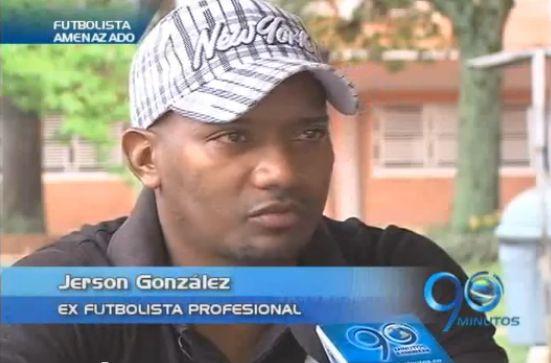 El ex futbolista Jersson González denuncia a un estafador