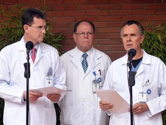 La operación practicada al presidente Santos fue exitosa