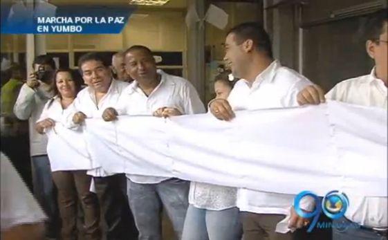 Marcha por la paz en Yumbo