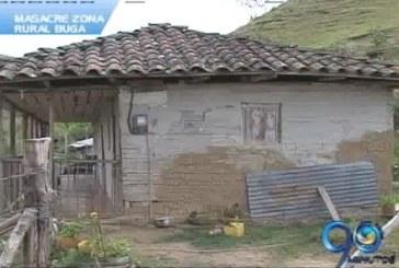 Masacre en zona rural de Buga
