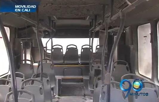 Balance de los daños provocados en buses del MIO