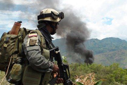 Continúan intensos combates en Morales, Cauca