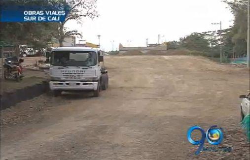 Balance sobre el desarrollo de obras viales en el sur de Cali