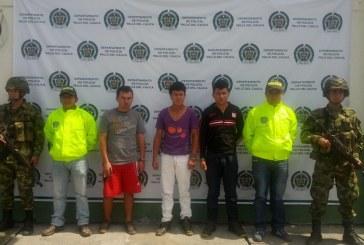 """En el Norte del Valle caen tres presuntos colaboradores del grupo delincuencial """"Los Rastrojos"""""""