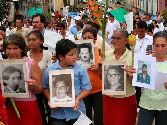 Familiares de secuestrados estarán en el encuentro nacional de víctimas