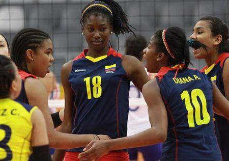 Por primera vez, Colombia clasifica a un mundial juvenil de voleibol